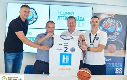 Névszponzor – mostantól Hübner-Nyíregyháza BS a kosárcsapat neve!