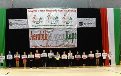 Aerobik Magyar Kupa III. forduló Fotó: Trifonov Éva, www.nyiregyhaza.hu