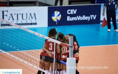 Kupadöntő – bejutott a fináléba a Fatum Nyíregyháza női röplabda együttese!