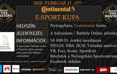 Continental E-sport Kupa