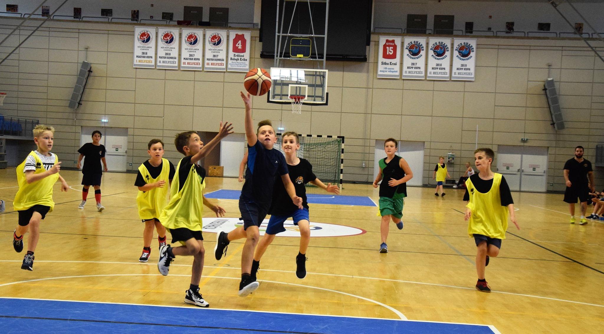Idén is megszervezi nyári kosárlabda táborát a Hübner Nyíregyháza BS