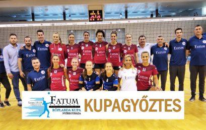 Kupagyőztes a Fatum-Nyíregyháza csapata
