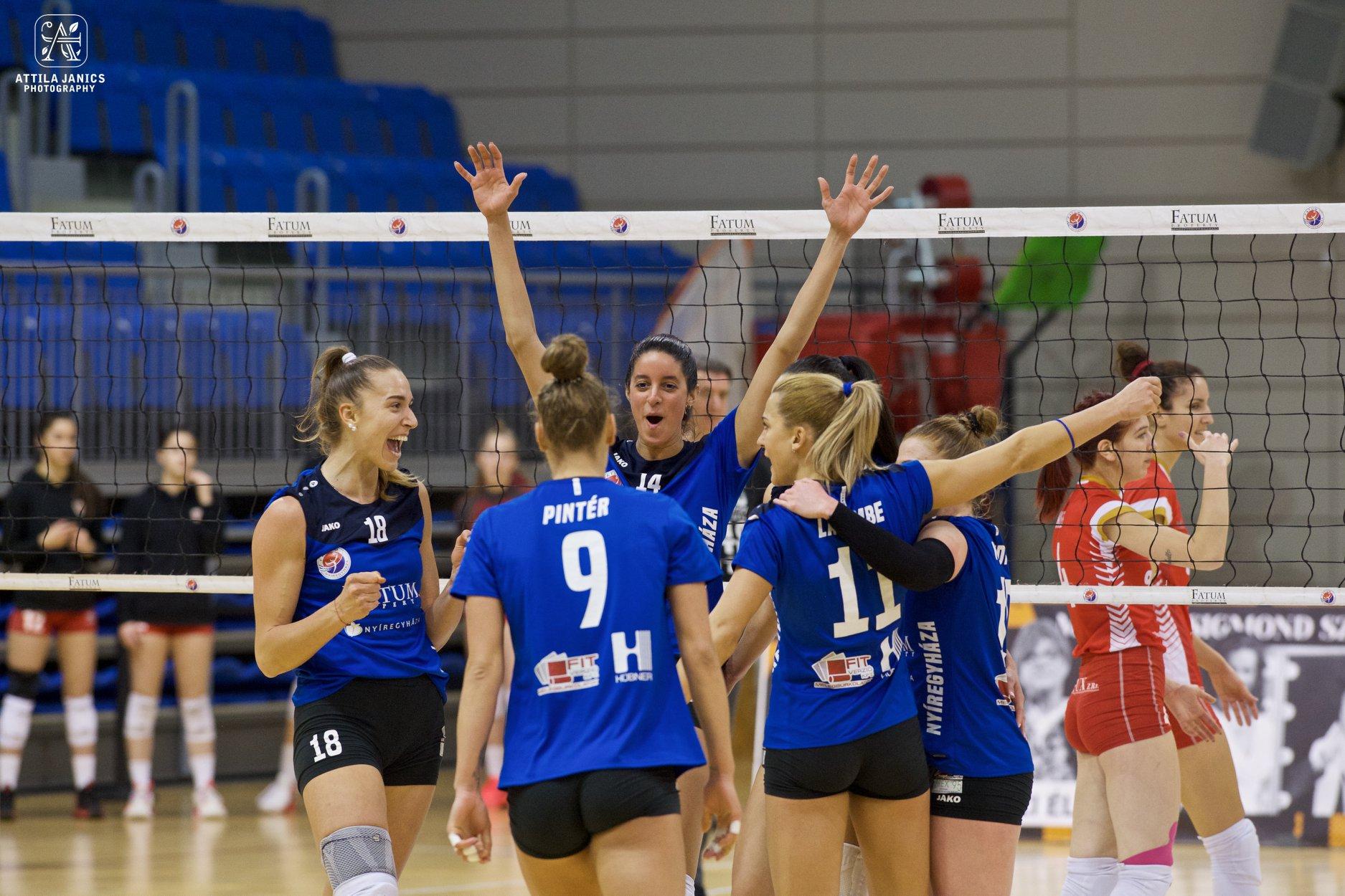Fatum-Nyíregyháza – DVTK röplabda bajnoki mérkőzés