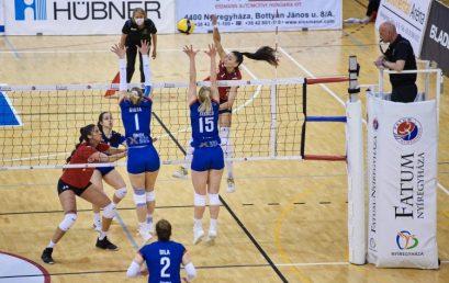 Jöhet a döntő – A harmadik meccset is megnyerte a Vasas ellen a Nyíregyháza
