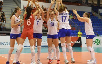 U16 Röplabda Európa-bajnokság Magyarország-Oroszország Fotó: MRSZ