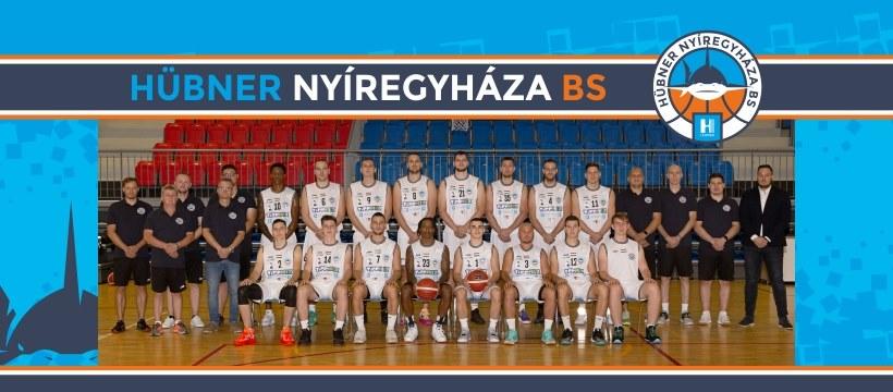 Hazai pályán a Hübner Nyíregyháza BS kosárlabda csapata