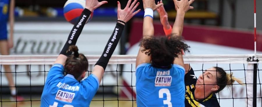 Előny a Fatumnál – győzött Kaposváron a női röplabda együttes
