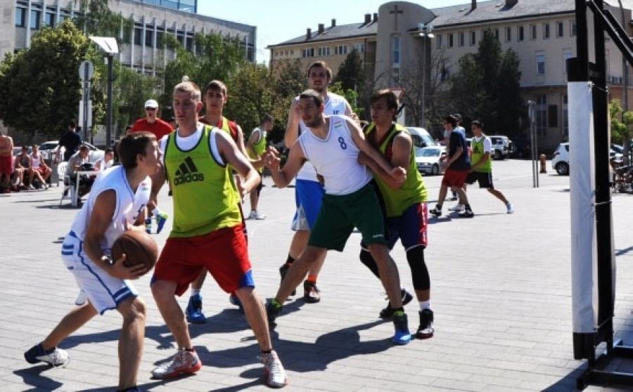 Kosárlabda dömping a hétvégén