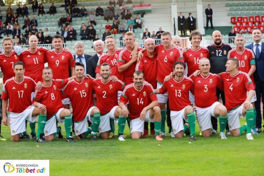 Jótékonysági Sportgála – szombaton Nyíregyházán az öregfiúk-válogatott